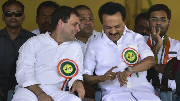DMK MK Stalin said to Congress Rahul Gandhi you have won hearts if people