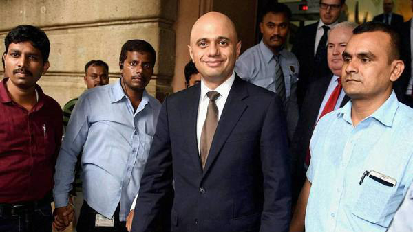 Pakistan based driver son Sajid Javid in UK prime minister race