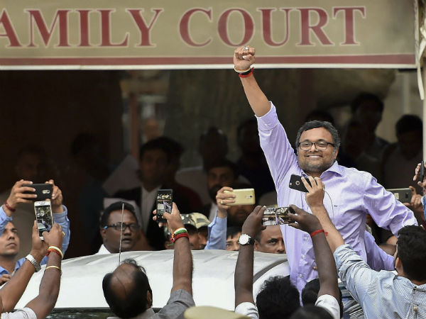 SC allows Karti Chidambaram to travel abroad in May