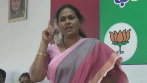 shobha karandlaje demands cm resignation