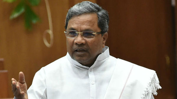 evm was doubted by bjp first siddaramaiah