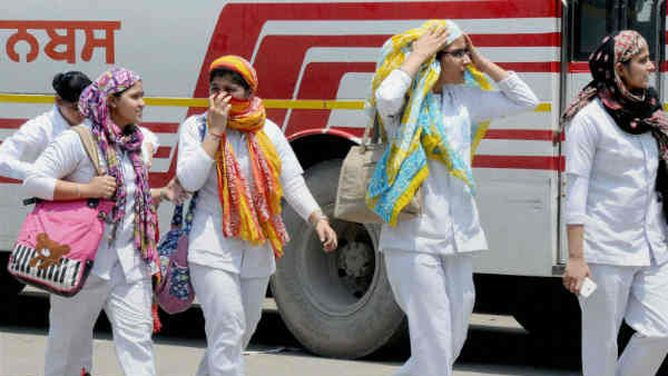 Temperature touched 48 degrees Celsius in Maharashtras Chandrapur