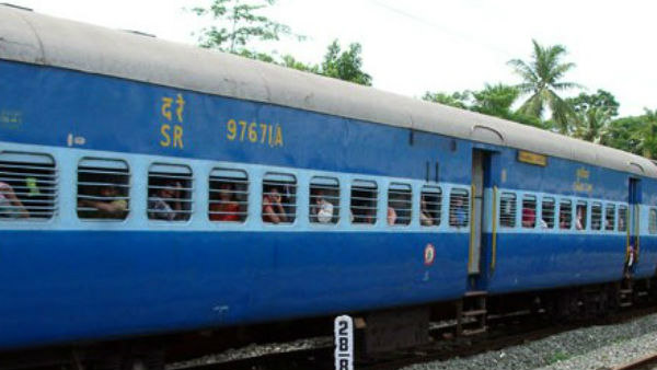 Lady sexually harassed while sleeping in train