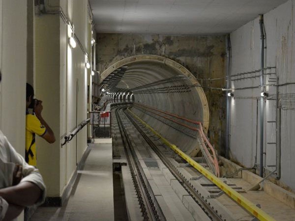 BMRCL will construct skywalks instead of padestrian tunnel