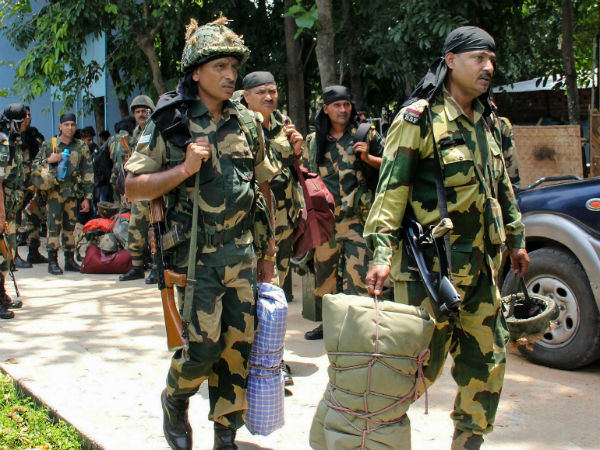 Gunfight in central force base in West Bengal: 1 soldier killed