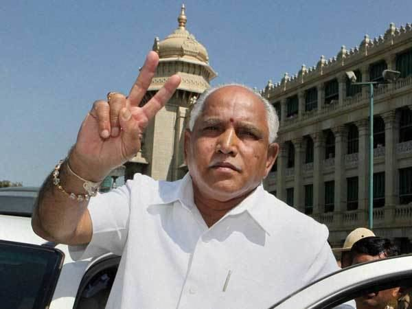 Dont say government will fall: Yeddyurappa instructed BJP members