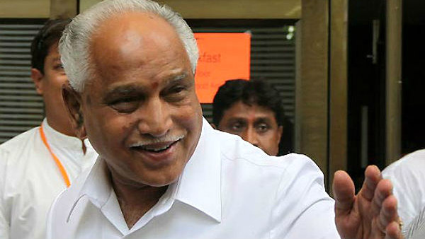 Yeddyurappa once told about Karnataka congress future