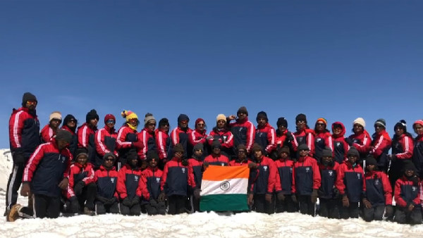 14 HD Kote tribal girls climbed Himalaya mountain