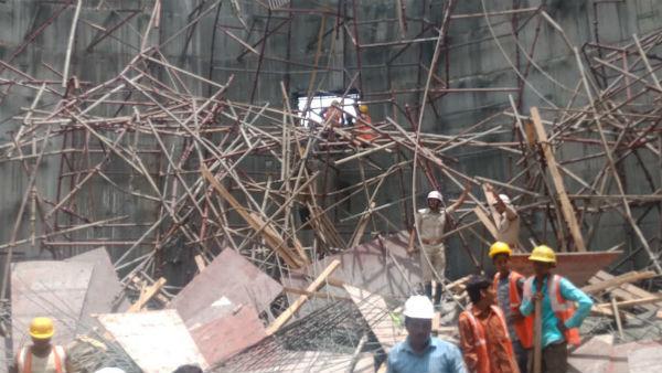 ಬೆಂಗಳೂರು : ನಿರ್ಮಾಣ ಹಂತದ ನೀರಿನ ಟ್ಯಾಂಕ್ ಕುಸಿತ, 3 ಸಾವು
