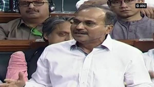 Adhir Ranjan Chowdhury congratulates Speaker Om Birla with poem