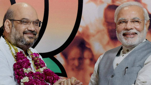 Shah became shadow of Modi after holding eight cabinet commitee