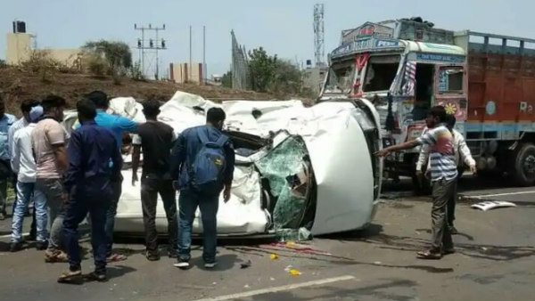 5 killed in road accident at Belagavi