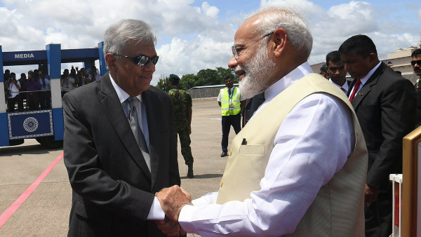 Modi is the world first leader visited Sri Lanka after Easter series blast