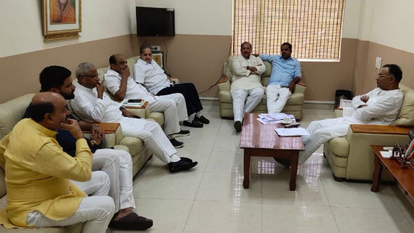 KPCC President Dinesh Gundu Rao interaction with district leaders, reason for losing the election