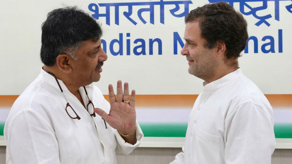 We are loyal to Gandhi family and Congress: DK Shivakumar