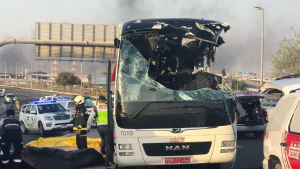 Dubai Bus accident: 8 Indians among 17 killed