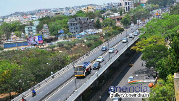 Flyover merge may it reduces traffic in Hebbala