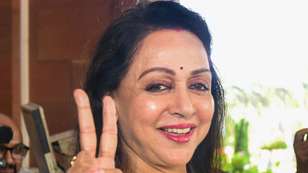 monsoon session hema malini radhe oath