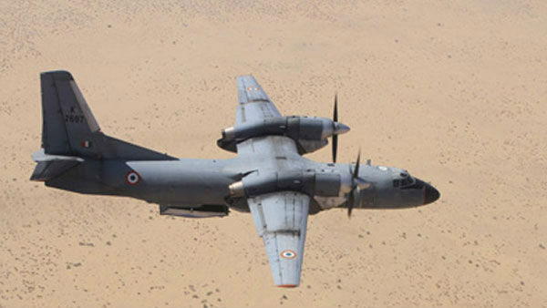 IAF's AN-32 aircraft with 13 people on board loses contact near China border
