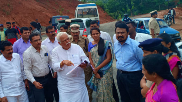Revenue minister RV Deshpande instructed to give homes to flood victims as soon as possible