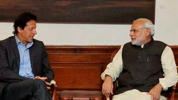 Narendra Modi and Imran Khan finally exchange Pleasantries