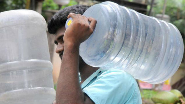 Illegal Packaged drinking water supply started in Cities