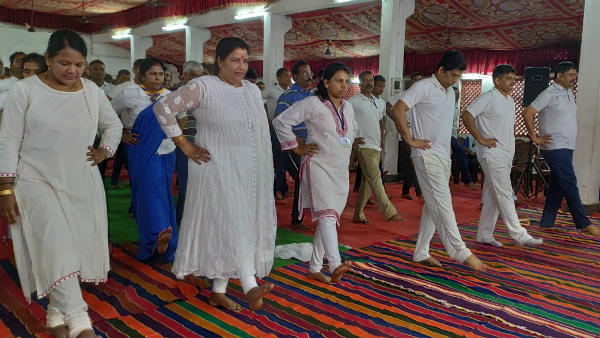 International Yoga Day celebrated across Uttara Kannada district on Friday