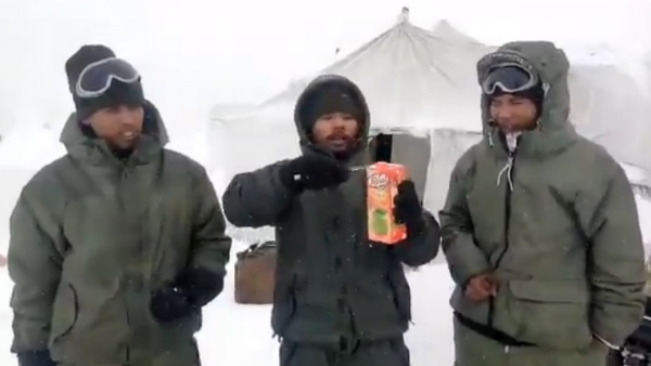 Juice like a bricks, egg like a stone in Siachen at minus 60 degree Celsius