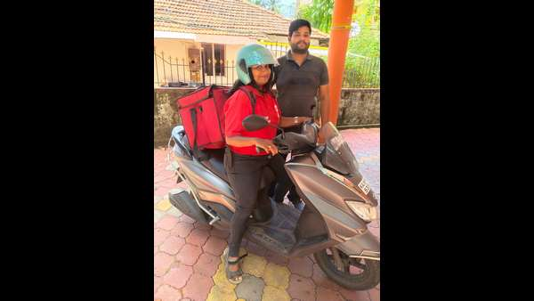 Meghana Das joins Zomato as food delivery girl