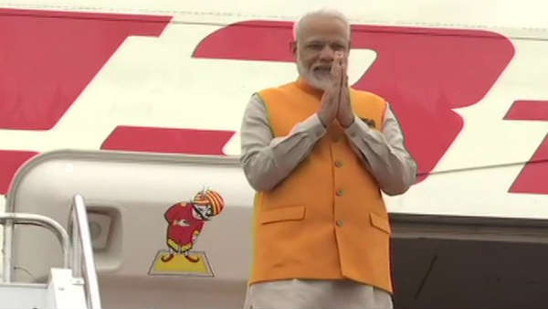 PM Modi arrives in Japan to attend G20 summit meetng
