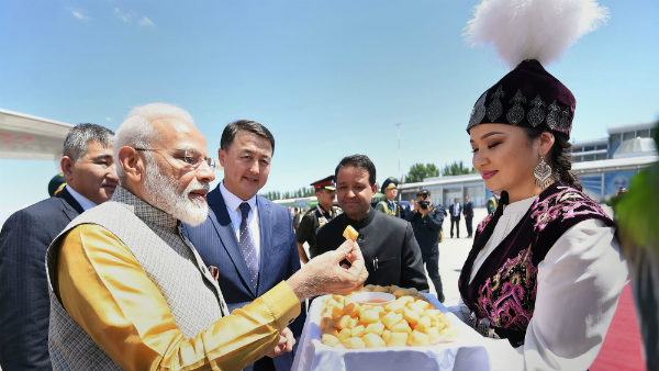 PM Narendra Modi reached Bishkek for SCO meet