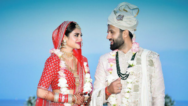 Nusrat Jahan gets married before taking oath as MP