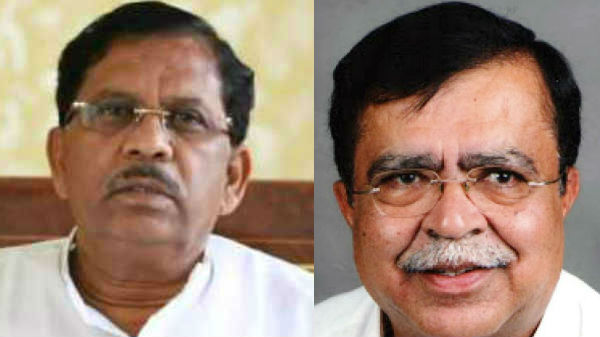War of words between KN Rajanna and G Parameshwar supporters in Tumakuru