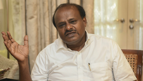HD Kumaraswamy grama vastavaiya in Hassan on July 18