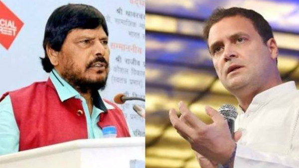 To strengthen Congress party Rahul Gandhi should marry: Ramdas Athawale