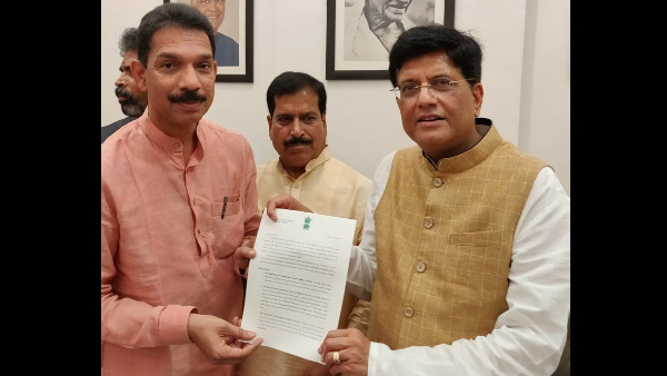 MP Nalin Kumar Kateel appealed union Railway minister