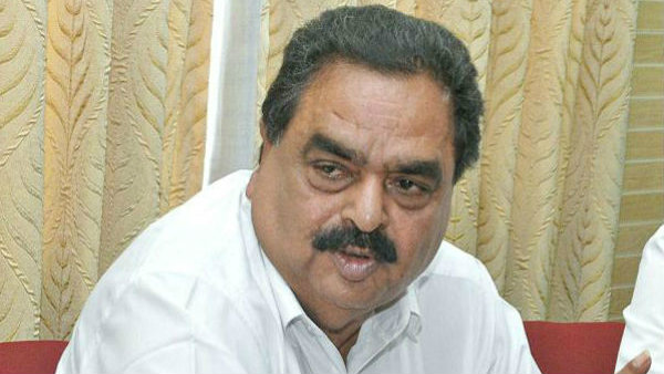 Statement against Sulibele Court order for ex minister Ramanath Rai