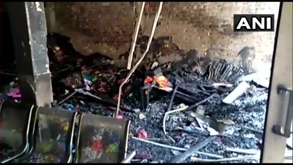 3 people dies in fire at private school in Faridabad