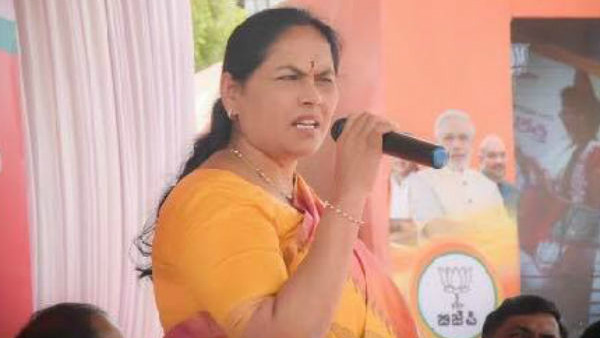 shobha karandlaje reacted for siddaramaiah for hindi imposition statement