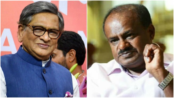 What is the role of media, CM Kumaraswamy reaction on SM Krishna tweet