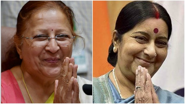 Indication of end of legislative innings: Sushma, Sumitra apply for ex MP card