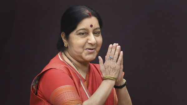 former external minister Sushma swaraj vacate official residence
