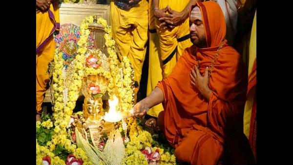 ಬೆಂಗಳೂರಿನಲ್ಲಿ ರಾಘವೇಶ್ವರ ಶ್ರೀಗಳ