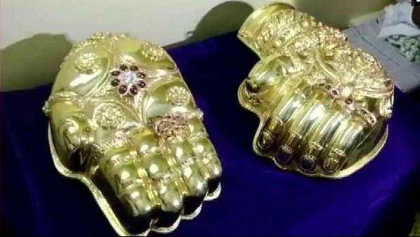 ತಿರುಪತಿಯ ಬಾಲಾಜಿಗೆ 2 ಕೋಟಿ ರೂ. ಬಂಗಾರದ ಕೈ ನೀಡಿದ ಭಕ್ತ!