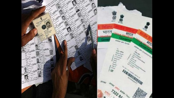 Link Aadhaar and voter ID to illegal voting vikramjit sen election commission