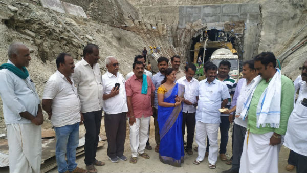 within two months bhadra water will go for vv sagar said narayana swamy