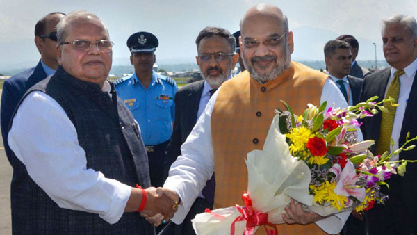 Home Minister visits Jammu and Kashmir No Bandh in 30 years