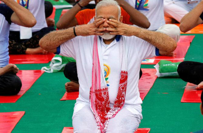 International Yoga Day, PMO selected Jharkhand capital Ranchi, where Modi participating