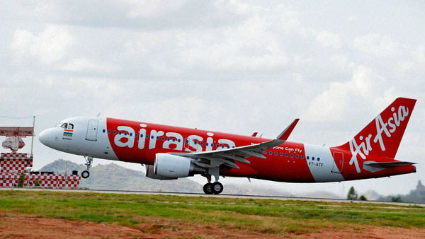 AirAsia Flight Suffers Bird Hit whileTakeoff From New Delhi