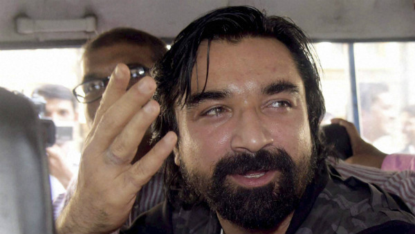 BiggBoss fame Bollywood actor Ajaz Khan arrested pbjectional video